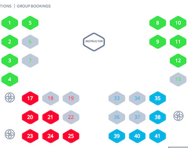 Robust Software With Spot Scheduling For Indoor Cycling Zingfit